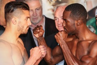 Adonis Stevenson, Stevenson vs. Fonfara - MONTREAL (May 23, 2014) – All 10 fighters competing televised bouts made weight made weight on their first attempts Friday at Bell Centre. The weigh-in was streamed live by SHOWTIME Sports Press Pass Live and is currently available on YouTube