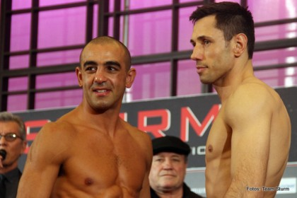 Felix Sturm Sam Soliman Sturm vs. Soliman Boxing News Boxing Results Top Stories Boxing