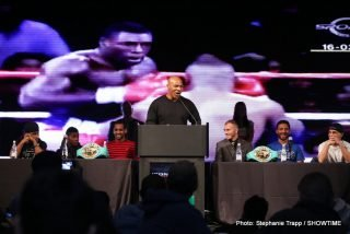 "Bobby Gunn, Mike Tyson - Fight fans might have read the various stories that suggested Bobby Gunn was set to face boxing star Mike Tyson in a bare-knuckle ""super-fight"" that would go out on pay-per-view. The story began who knows where but it picked up momentum and even RingTV.com has a piece on it. But Michael Woods of The Bible of Boxing has done us all a favor by quashing the rumors once and for all."