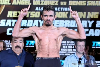 Mickey Bey Miguel Vazquez Vazquez vs. Bey Boxing News
