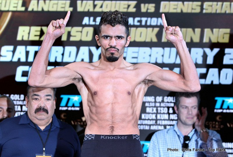 Miguel Vazquez will be looking to out-box Mickey Bey on September 13th