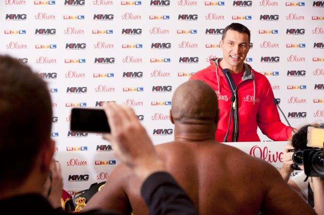 Photos: Klitschko vs. Leapai Press Conference