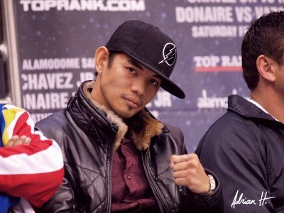 Donaire vs. Nishioka, Nonito Donaire, Toshiaki Nishioka - (Photo credit: Adrian Hernandez) By Joseph Herron: On October 13th, at the Home Depot Center in Carson, California, pound for pound fighter and IBF/WBO Super Bantamweight Champion Nonito Donaire (29-1, 18 KOs) will attempt to acquire the WBC Diamond distinction when he faces WBC Champion Emeritus Toshiaki Nishioka (39-4-3, 24 KOs).