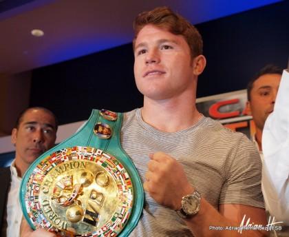 Austin Trout Canelo vs. Trout Saul Alvarez Boxing News