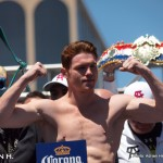 Photo Gallery: Weights: Canelo 153.5, Trout 153.25