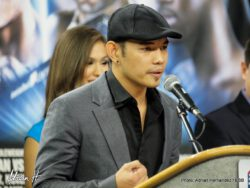 Nonito Donaire -  Nonito Donaire Interview with Adrian Hernandez in Corpus Christi, TX. Donaire talks about his up coming bout with Vic Darchinyan at the American Bank Center
