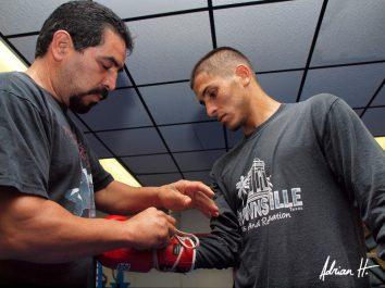 Sergio Perales Stuart Hall British Boxing