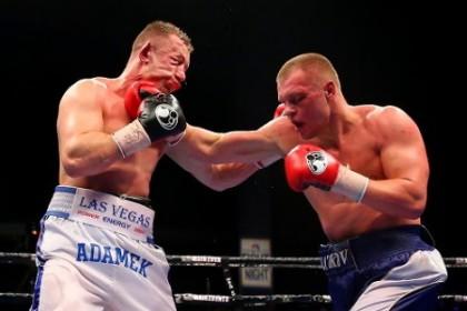 Adamek vs. Glazkov Czar Glazkov Tomasz Adamek Boxing News Boxing Results Top Stories Boxing