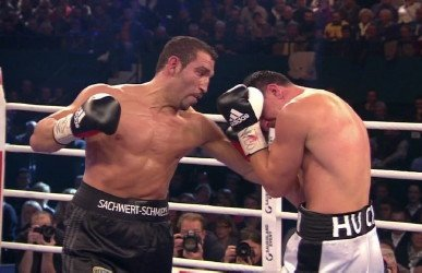 Firat Arslan - By Dwight Chittenden: Right now 42-year-old #8 WBO Firat Arslan (32-6-2, 21 KO's) is feeling really upset about being on the losing end of a controversial 12 round unanimous decision against WBO cruiserweight champion Marco Huck (35-2-1, 25 KO's) last night at the Gerry Weber Stadium, Halle, Nordrhein-Westfalen, Germany.