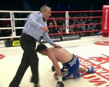 Barker vs. Sturm Darren Barker Felix Sturm Boxing News Boxing Results