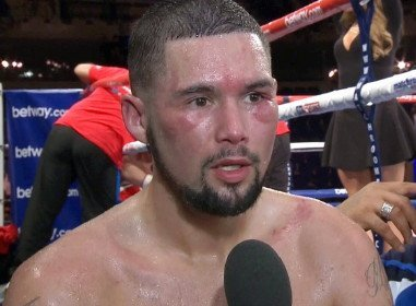 "BJ Flores vows he will ""school"" Tony Bellew ""before I knock his ass clean out!"""
