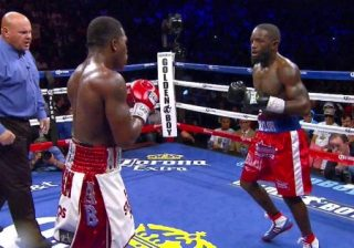 Adrien Broner, Broner vs. Taylor, Emmanuel Taylor - Adrien Broner (29-1, 22 KOs) scored a 12th round knockdown in the process of defeating Emmanuel Taylor (18-3, 12 KOs) by a 12 round unanimous decision in his hometown at the U.S Bank Arena in Cincinnati, Ohio.