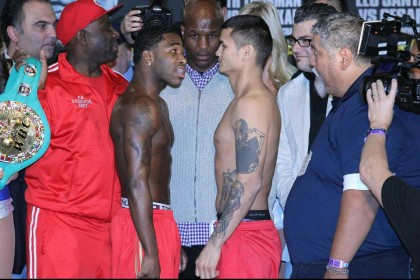 Adrien Broner Amir Khan Floyd Mayweather Jr Gennady Golovkin HBO Boxing Julio Cesar Chave Jr K2 Promotions Luis Collazo Manny Pacquiao Tim Bradley Boxing Interviews Boxing News Press Room Top Stories Boxing