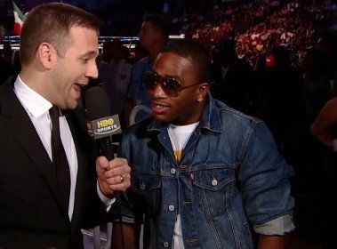 "Adrien Broner, Manny Pacquiao - By Rob Smith: WBC lightweight champion Adrien Broner let HBO analyst Max Kellerman know last Saturday night that the fight that he wants next is against Manny Pacquiao in early 2013, saying ""There's a fight that can happen – me and  Pacquiao."" The interview took place before the Andre Berto vs. Robert Guerrero fight, which Broner attended in order to see his friend Berto fight."