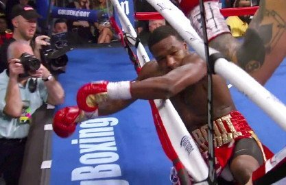 Adrien Broner, Marcos Maidana - WBA welterweight champion Marcos Maidana (35-3, 31 KO's) wonders why he should have to do Adrien Broner (27-1, 22 KO's) a favor and give him a rematch when he wasn't given a rematch against Amir Khan when he lost a close 12 round decision against him four years ago in 2010. Earlier today ESPN writer Dan Rafael revealed that Golden Boy Promotions CEO Richard Schaefer said that Broner and Maidana would be fighting a rematch in April.