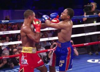 Brook vs. Porter - It looked like the judges gave Porter zero credit for his body punching in the fight, because he was nailing Brook with good body shots in the inside, as well as head shots while fighting through clinch after clinch.