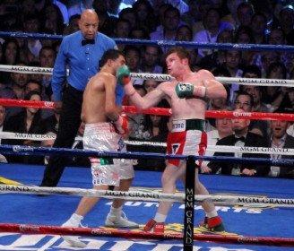 Saul Alvarez Sergio Martinez Boxing News Top Stories Boxing