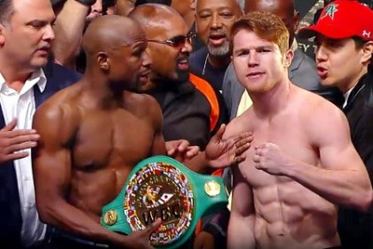 "Canelo Alvarez Floyd Mayweather Jr Money Mayweather Saul ""Canelo"" Alvarez Boxing News Top Stories Boxing"