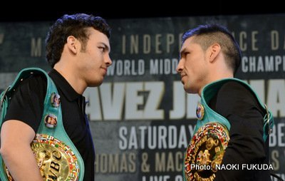 Chavez Jr-Martinez Chavez Jr. vs. Martinez Freddie Roach Julio Cesar Chavez Jr. Sergio Martinez Boxing News Top Stories Boxing