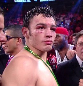 "Chavez Jr. vs. Martinez - By Joseph Herron: Be careful what you ask for in boxing, because you just might get it. After the drama filled conclusion of Top Rank's main event at the Thomas & Mack Center in Las Vegas, Nevada, on September 15th, many questions remain concerning the heated rivalry between former WBC Middleweight Champion Julio Cesar Chavez Jr. and universally recognized 160 pound king Sergio ""Maravilla"" Martinez."
