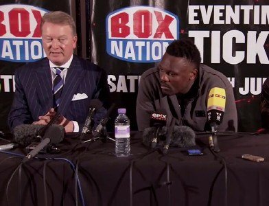 Dereck Chisora faces Kevin Johnson at the Copper Box Arena on Feb. 15th