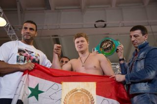 """Alexander Povetkin, Manuel Charr - When """"Diamond Boy"""" Manuel Charr and former WBA world heavyweight champion Alexander Povetkin step into the ring at Luzhniki Arena in Moscow (Russia) tonight (live on live.360fights.com / broadcast starts at noon EST / 6pm Central European Time) they will not only fight for the WBC international championship. According to Manuel Charr the fight will also be dedicated to the peace process in Syria."""