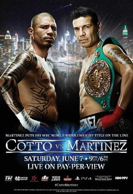 Boxnation to show Martinez vs Cotto live