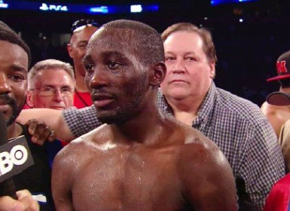 Crawford vs. Dulorme: Terence Crawford Interview