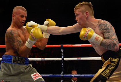 Martin Ward Stuart Hall Boxing News Boxing Results British Boxing