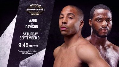 Dawson vs. Ward Boxing News
