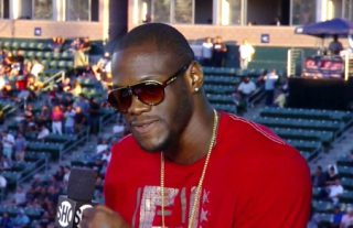 Jason Gavern - #1 WBC heavyweight contender Deontay Wilder (32-0, 32 KOs) stopped 37-year-old Jason Gavern (25-17-3, 11 KOs), in the 4th round last Saturday night at the StubHub Center, in Carson, California.