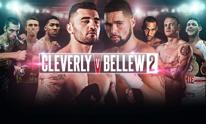 Cleverly vs Bellew Nathan Cleverly Tony Bellew Boxing News British Boxing Top Stories Boxing