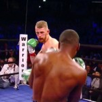 Boxing Results - Former light heavyweight world title challenger Andrzej Fonfara (26-3, 15 KOs) defeated Doudou Ngumbu (33-6, 12 KOs) by a workmanlike 10 round unanimous decision tonight in a fight that was a tougher than it should have been for Fonfara at the UIC Pavilion in Chicago. Fonfara was hit cleanly by a lot of Ngumbu's best power shots in the fight.