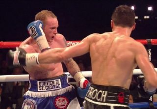 Carl Froch, Gennady Golovkin, Roy Jones Jr. - HBO commentator Roy Jones Jr. says that he recommends that IBF/WBA super middleweight champion Carl Froch (33-2, 24 KO's) go in the direction of former WBC middleweight champion Julio Cesar Chavez Jr. for his next fight rather than Gennady Golovkin, as Jones Jr. feels that with the mistakes that he saw in Froch's game last night in his win over George Groves (19-2, 15 KO's), that he would be taken advantage of by Golovkin if he were to fight him next.