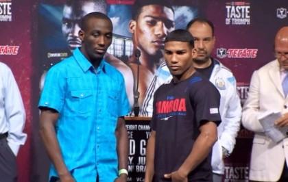 Crawford vs. Gamboa Terence Crawford Yuriorkis Gamboa Boxing News