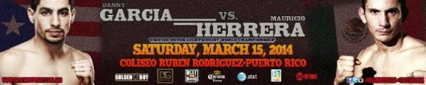 WBA/WBC 140 lb. champion Danny Garcia arrive tomorrow to Puerto Rico