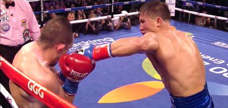 Marco Antonio Rubio - In a quick stoppage, WBA Super world middleweight champion Gennady Golovkin (31-0, 28 KOs) obliterated a badly over-matched Marco Antonio Rubio (59-7-1, 51 KOs) by a 2nd round knockout tonight at the StubHub Center in Carson, California. Golovkin knocked Rubio down with a scorching right uppercut to the head and then a left hook to the head that put Rubio on the canvas. Referee Jack Reiss stopped the fight at 1:19 of the 2nd round much to the disappointment of the sold out StubHub Center crowd.