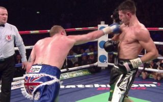 George Groves - IBF/WBA super middleweight champion Carl Froch (32-2 23 KO's) and George Groves (19-1, 15 KO's) have reached agreement for a rematch that is tentatively scheduled for May 31st at one of the huge outdoor football stadiums in the UK. Froch's promoter Eddie Hearn wants to place it in a stadium that holds 80,000 and he feels that it'll be the biggest fight ever in British boxing. Whether that'll be or not is unknown, but what is known is that the two fighters will be splitting a huge 10 million purse for the fight. Groves' cut of the purse is anywhere from 15-25 percent.