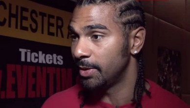 David Haye British Boxing