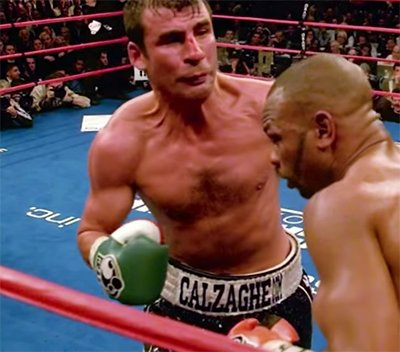 "Ten years on: retired great Joe Calzaghe looks back on his ""masterpiece"" against Jeff Lacy"