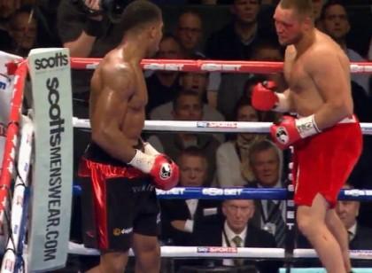 Anthony Joshua Kevin Johnson Boxing News
