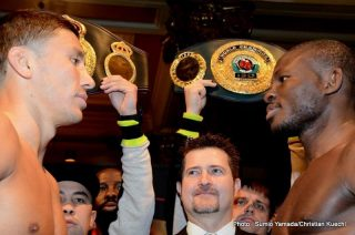 Gennady Golovkin, Golovkin vs. Adama, Osumanu Adama, Sergio Martinez -  Gennady Golovkin is hoping his outstanding 2013 can push him to even greater heights in the new year by beating the biggest names in the middleweight division.