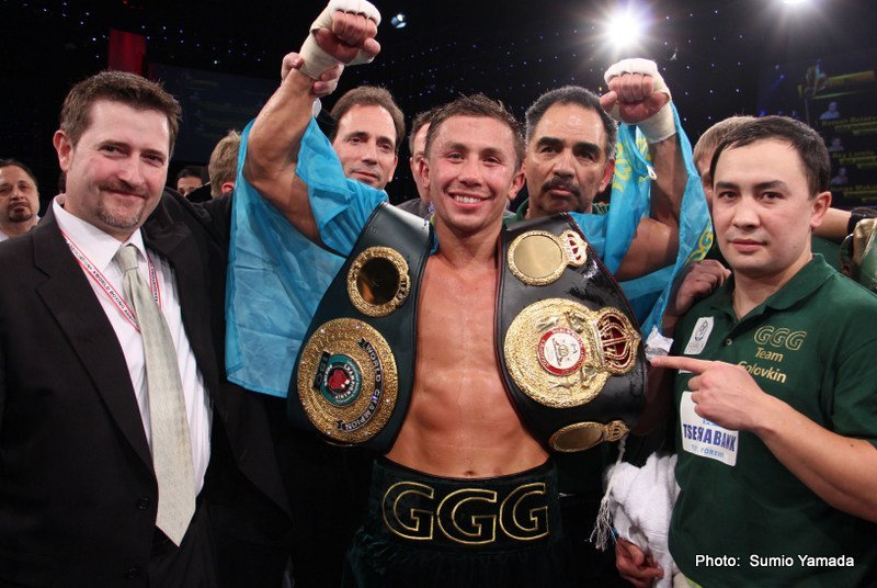 Gennady Golovkin - On Saturday in Monte Carlo, Monaco Gennady Golovkin scored his 16th knockout in a row by defeating a very game Osumanu Adama.  Golovkin registered three knockdowns in fight as he improved to 29-0, with 26 wins via knockout.