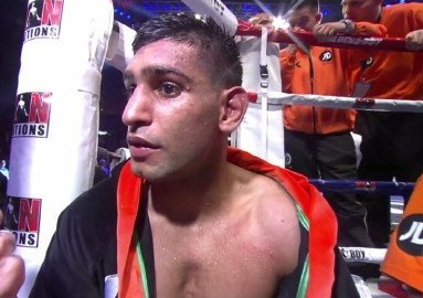 Amir Khan Frankie Gavin Boxing News British Boxing