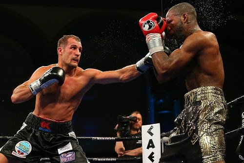 Results from Kovalev-Agnew at Boardwalk Hall