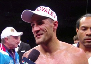 Cleverly vs. Kovalev Sergey Kovalev Boxing News Top Stories Boxing