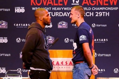 Kovalev vs. Agnew Sergey Kovalev Press Room