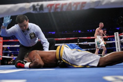 Andy Lee John Jackson Boxing News Boxing Results