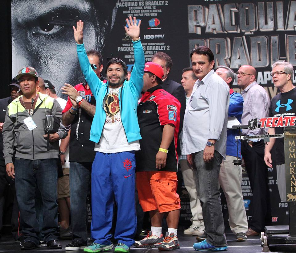 """WBO Welterweight Champ Manny Pacquiao"" edition of ""The Pugilist KOrner's: Weekend Wrap"""