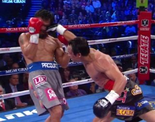 Floyd Mayweather Jr, Juan Manuel Marquez, Manny Pacquiao, Tim Bradley - There are two boxers who would certainly destroy Juan Manuel Marquez's career - Floyd Mayweather Jr. and Timothy Bradley. These unbeaten American fighters would retire the Mexican boxing superstar at his early forties.